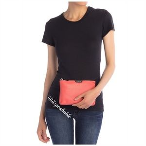 Genuine Leather Coral Pouch